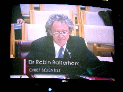 Robin Batterham appearing before Senate hearing into potential conflicts of interest, July 2004