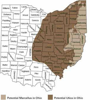 Ohio And Fracking SourceWatch - Map of hydraulic fracturing sites us