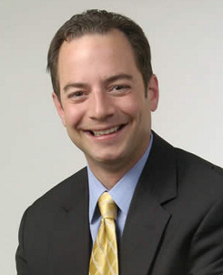 The 45-year old son of father Roula Priebus and mother Dimitra Priebus, 176 cm tall Reince Priebus in 2017 photo