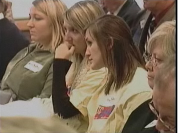 Activist Audience observes DEQ hearing