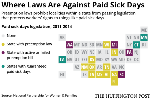 File:Paid Sick Days and Preemption 2014.png