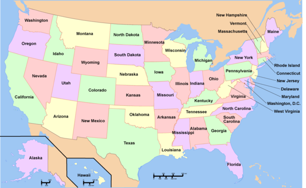 Map of USA with state names.png