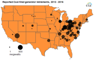 Existing US Coal Plants SourceWatch - Coal power plants in us map