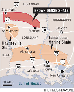 Fracking In Illinois Map.Louisiana And Fracking Sourcewatch