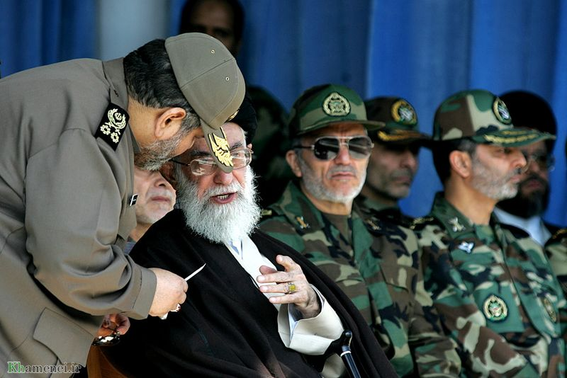 File:Imam Khamenei speaking to a commander in Oct. 2007.jpg