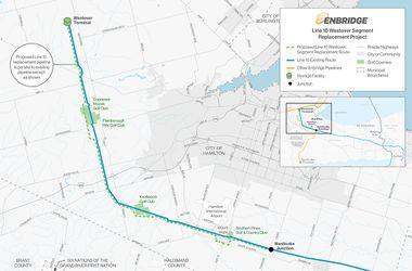Enbridge Line 10 Oil Pipeline - SourceWatch